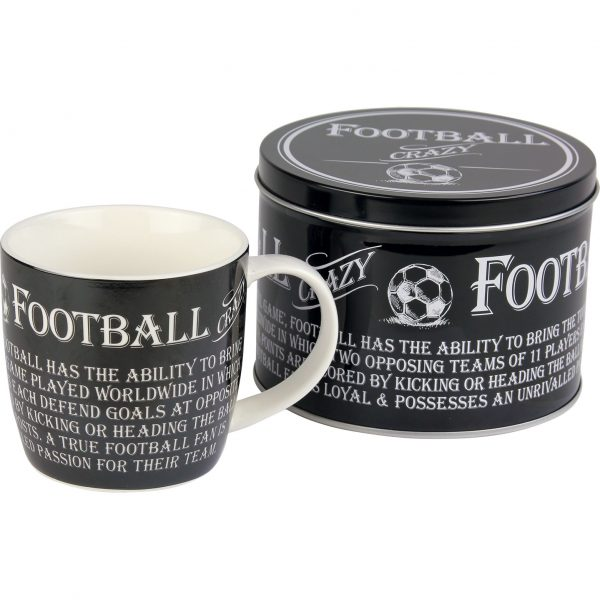 8812 The Ultimate Gift For Man Mug In Tin Football