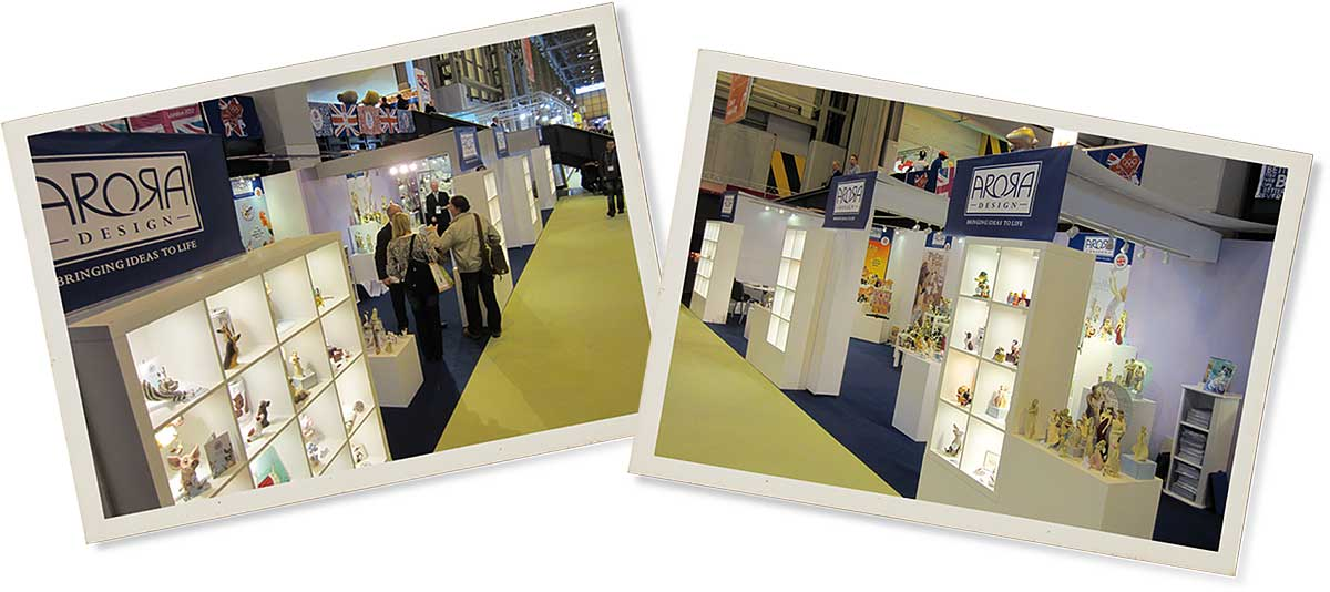 Arora Design Trade Shows