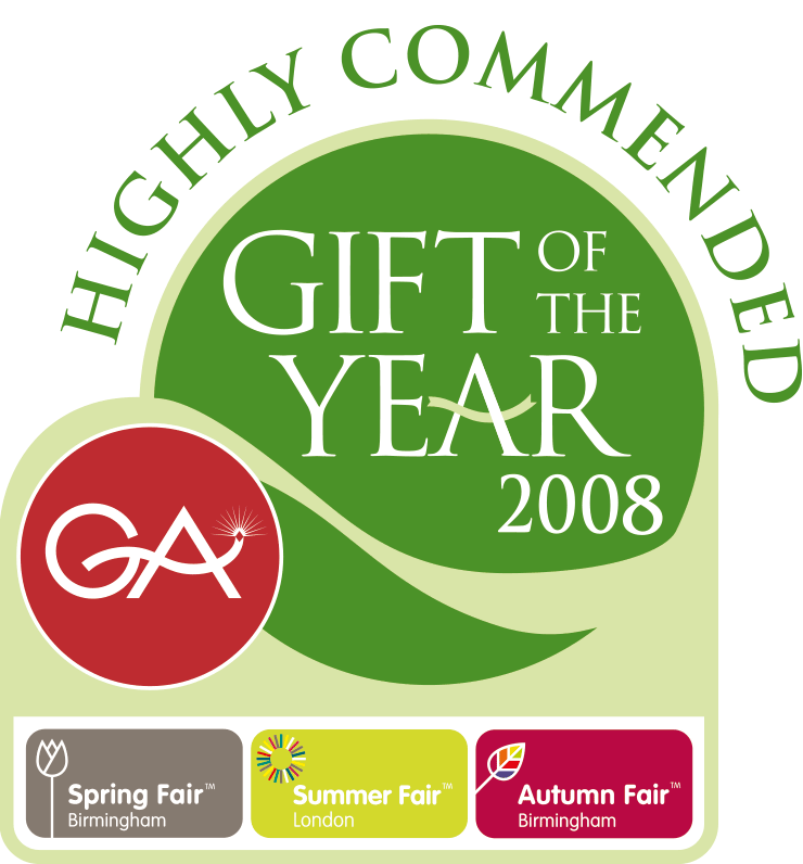 The Giftware Association Gift of The Year - Highly Commended 2008