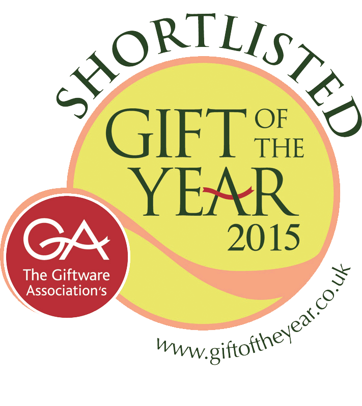 The Giftware Association Gift of The Year - Shortlisted 2015