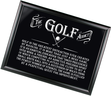 Arora Design Gifts For Men Range Golf Tray