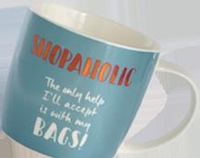 UGFG MUGS Shopaholic Mug 09