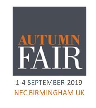 Arora Design Autumn Fair 2019